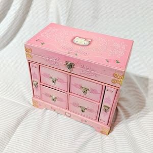 Sanrio Hello Kitty 2001 Jewelry Storage Box